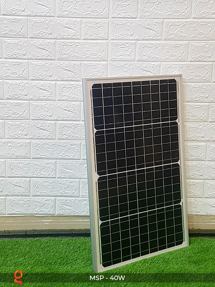 Tấm pin mặt trời mini Mono 40W 3