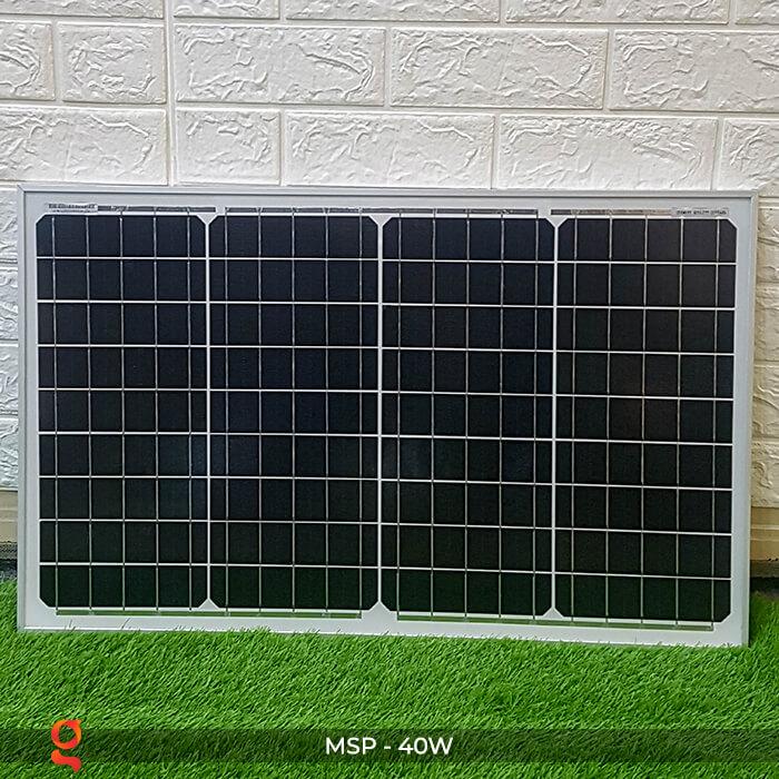 Tấm pin mặt trời mini Mono 40W 4