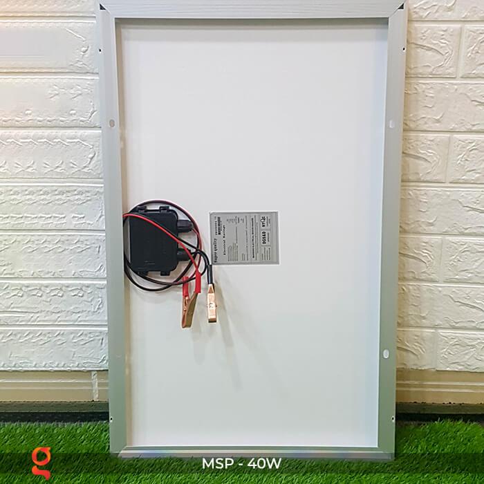 Tấm pin mặt trời mini Mono 40W 5