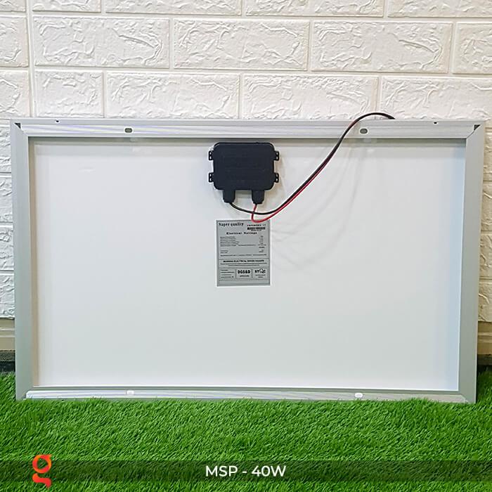 Tấm pin mặt trời mini Mono 40W 6