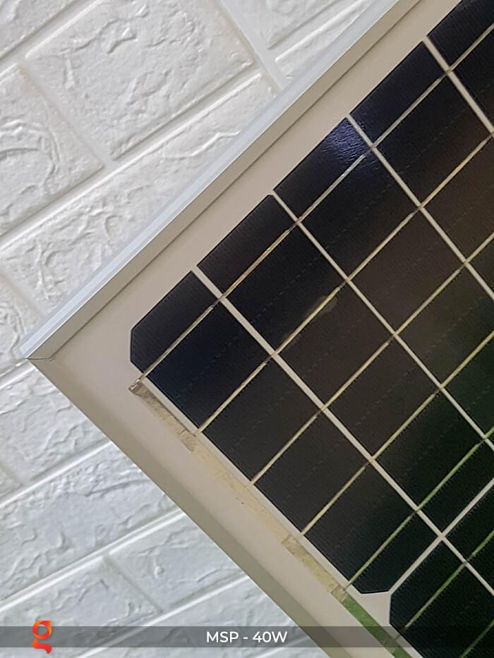 Tấm pin mặt trời mini Mono 40W 7