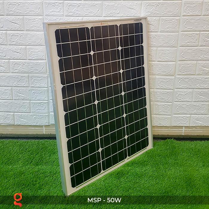 Tấm pin năng lượng mặt trời mini MONO 50W 3
