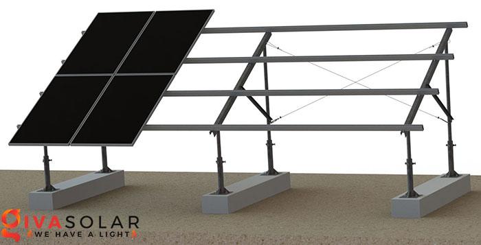 lắp đặt năng lượng mặt trời trên mặt đất 1