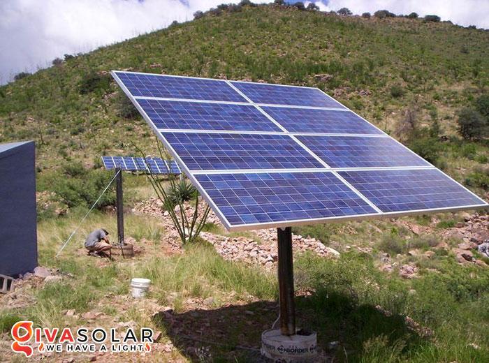 lắp đặt năng lượng mặt trời trên mặt đất 2