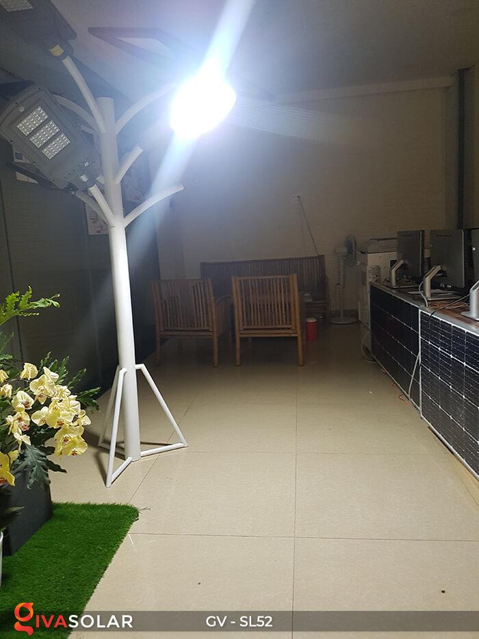 Set đèn đường chạy năng lượng mặt trời GV-SL52 12