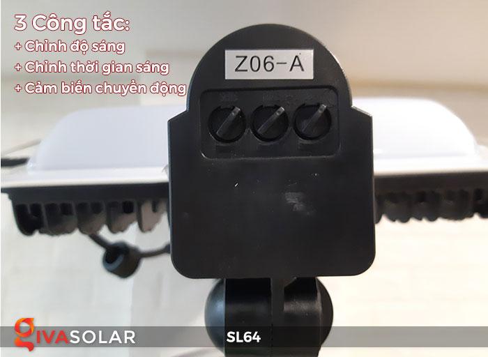 Đèn đường LED năng lượng mặt trời GV-SL64 21
