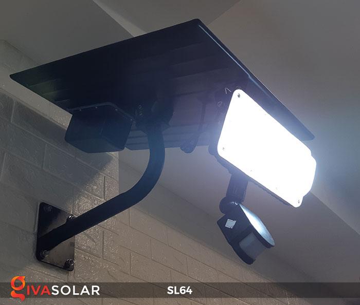 Đèn đường LED năng lượng mặt trời GV-SL64 8