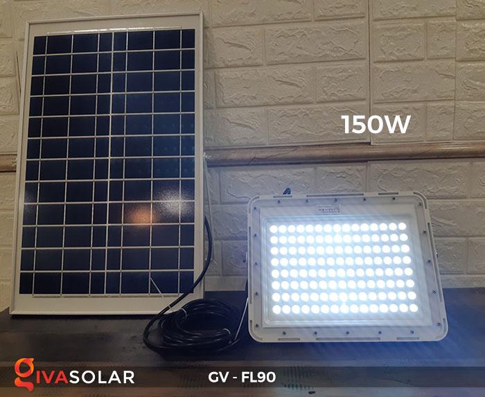 Đèn pha năng lượng mặt trời GV-FL90 12