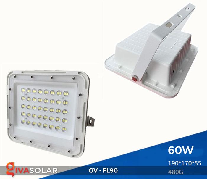 Đèn pha năng lượng mặt trời GV-FL90 2