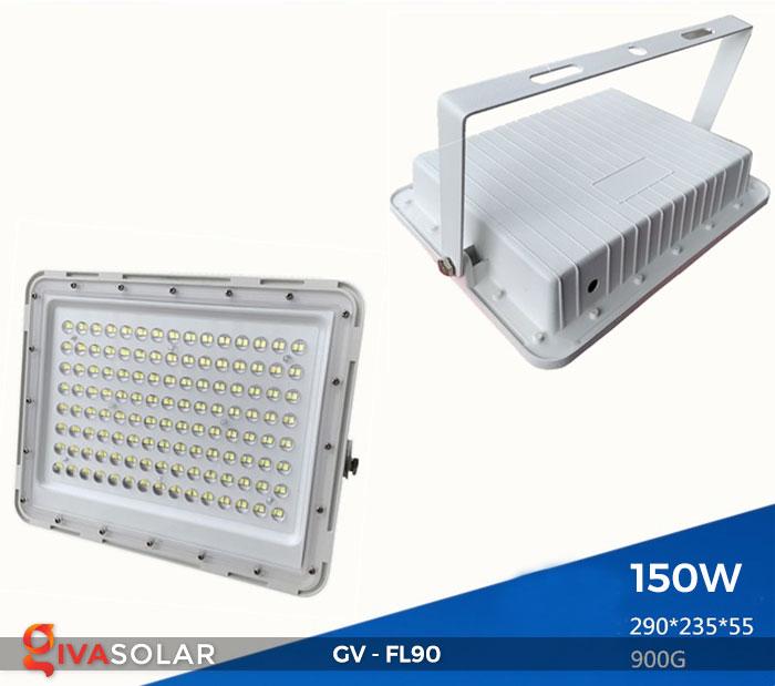 Đèn pha năng lượng mặt trời GV-FL90 4