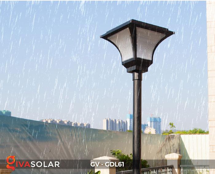 Đèn năng lượng mặt trời chiếu sáng sân vườn GV-GDL61 15