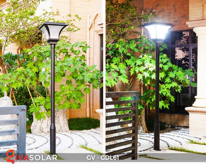 Đèn năng lượng mặt trời chiếu sáng sân vườn GV-GDL61 16