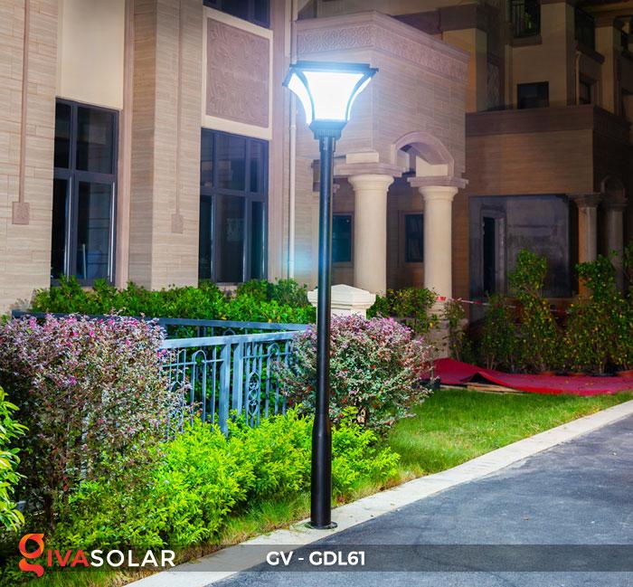 Đèn năng lượng mặt trời chiếu sáng sân vườn GV-GDL61 17