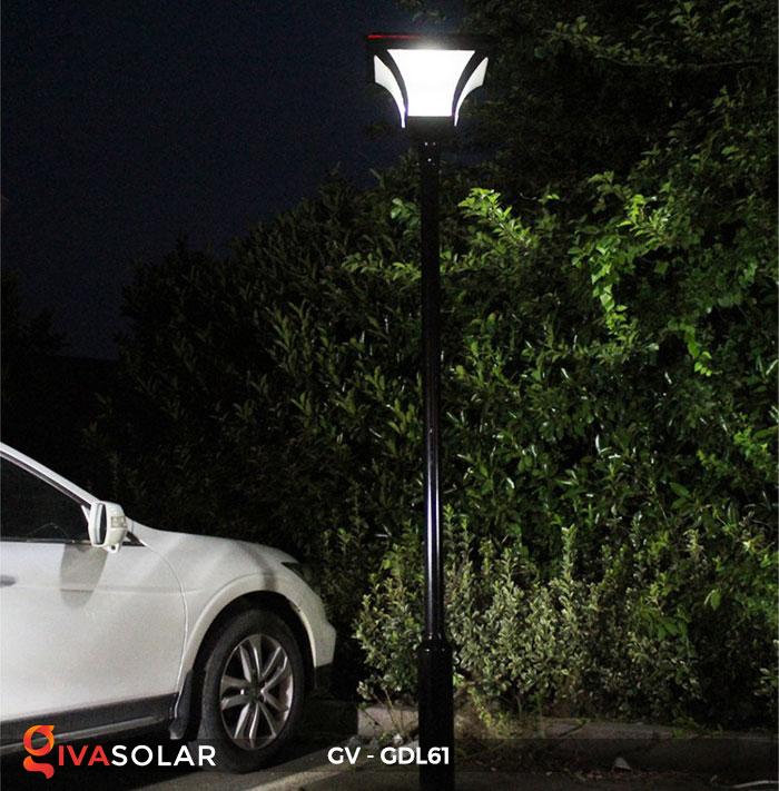 Đèn năng lượng mặt trời chiếu sáng sân vườn GV-GDL61 19