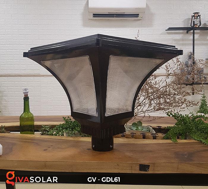 Đèn năng lượng mặt trời chiếu sáng sân vườn GV-GDL61 2