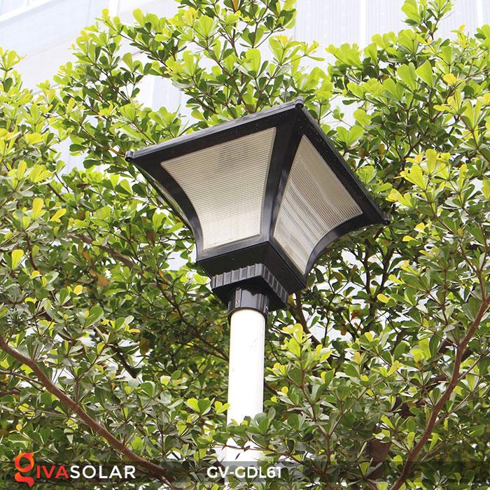 Đèn năng lượng mặt trời chiếu sáng sân vườn GV-GDL61 20