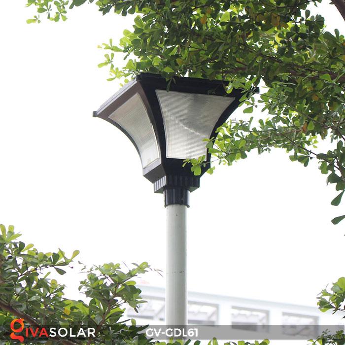 Đèn năng lượng mặt trời chiếu sáng sân vườn GV-GDL61 21