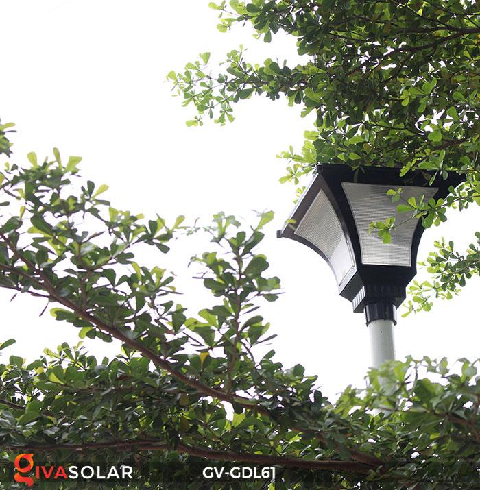 Đèn năng lượng mặt trời chiếu sáng sân vườn GV-GDL61 22