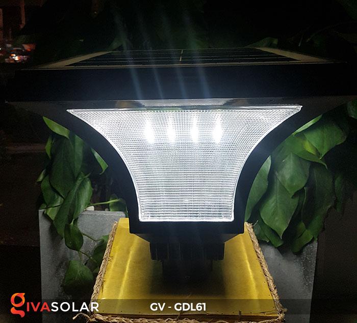 Đèn năng lượng mặt trời chiếu sáng sân vườn GV-GDL61 3