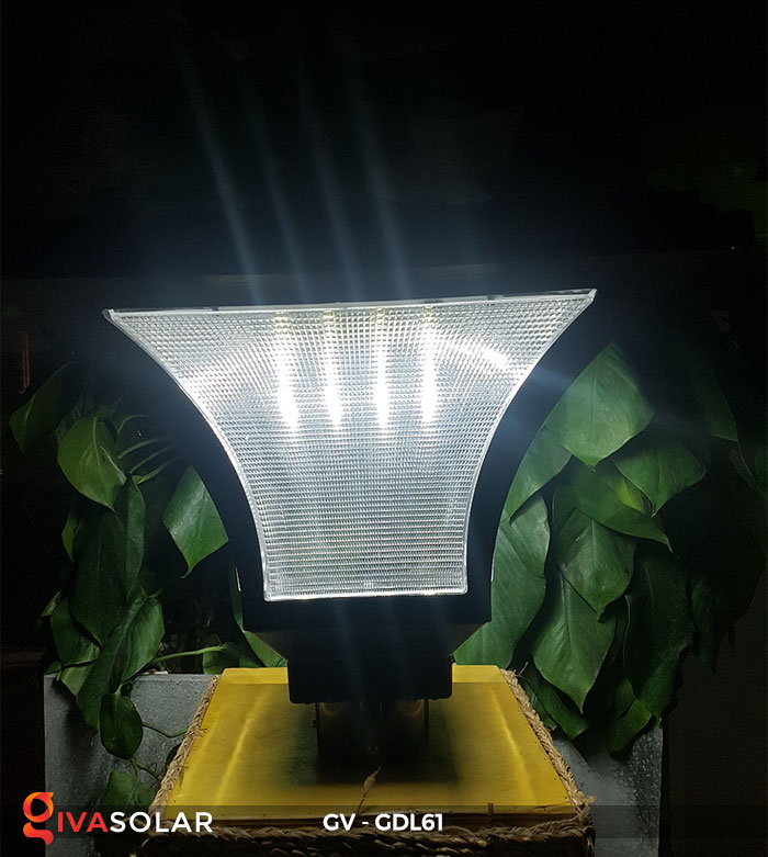 Đèn năng lượng mặt trời chiếu sáng sân vườn GV-GDL61 4