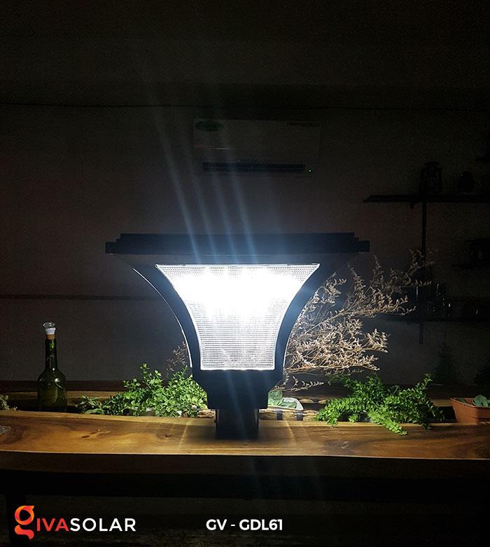 Đèn năng lượng mặt trời chiếu sáng sân vườn GV-GDL61 5