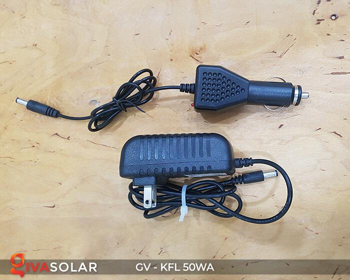 Đèn Pha Sạc điện GV-KFL-50WA 13