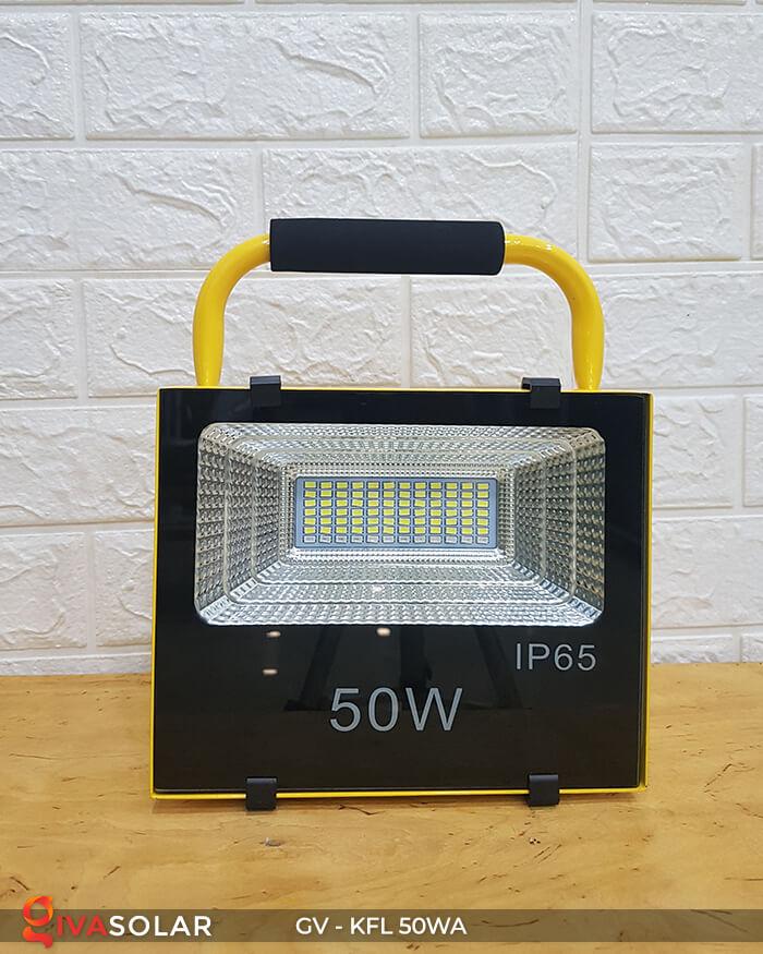 Đèn Pha Sạc điện GV-KFL-50WA 2
