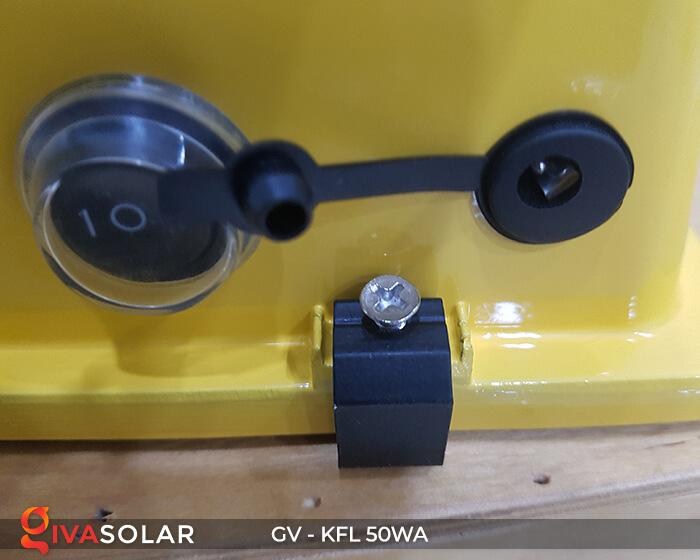 Đèn Pha Sạc điện GV-KFL-50WA 9