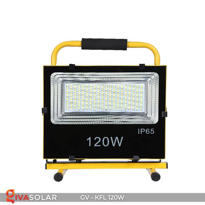 Đèn LED pha sạc điện GV-KFL-120W 1