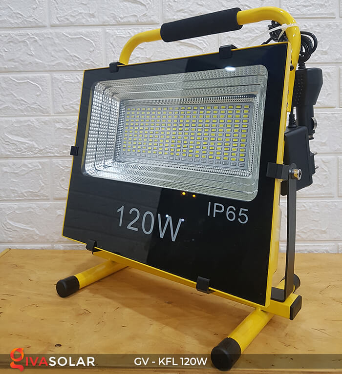 Đèn LED pha sạc điện GV-KFL-120W 11
