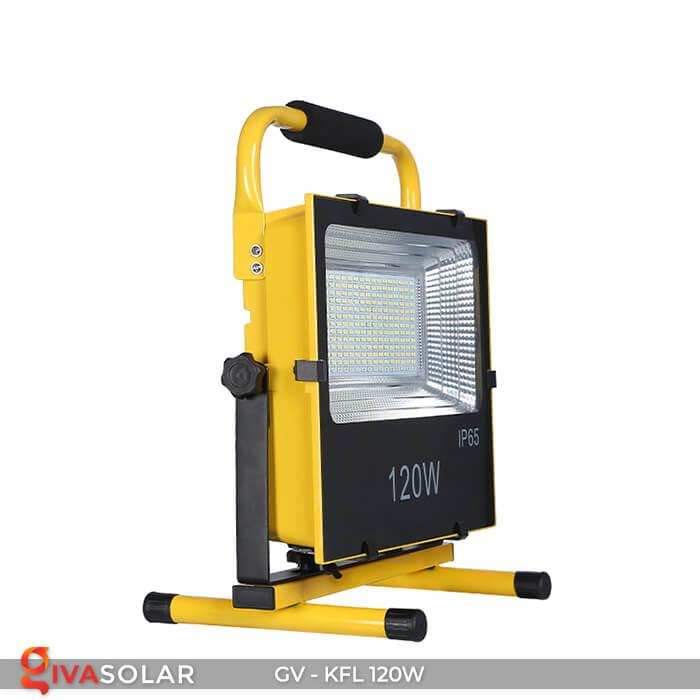 Đèn LED pha sạc điện GV-KFL-120W 2