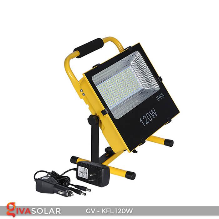 Đèn LED pha sạc điện GV-KFL-120W 3