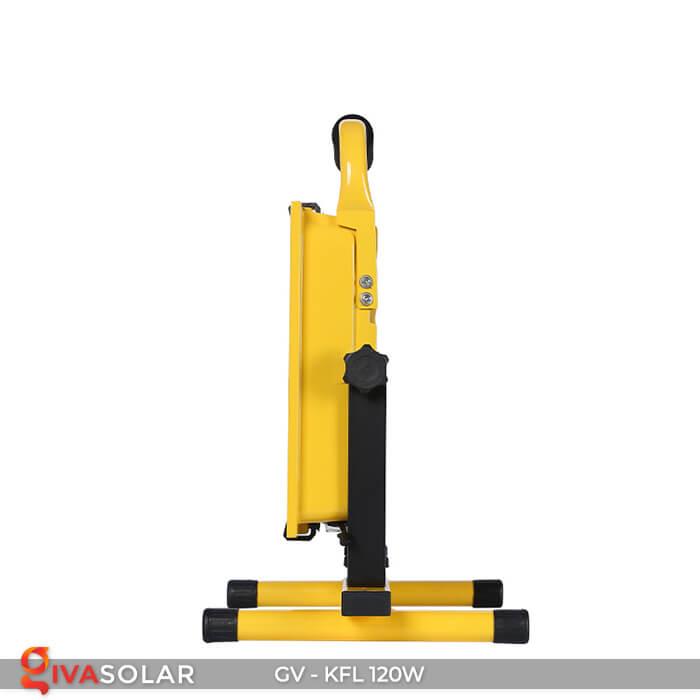 Đèn LED pha sạc điện GV-KFL-120W 6