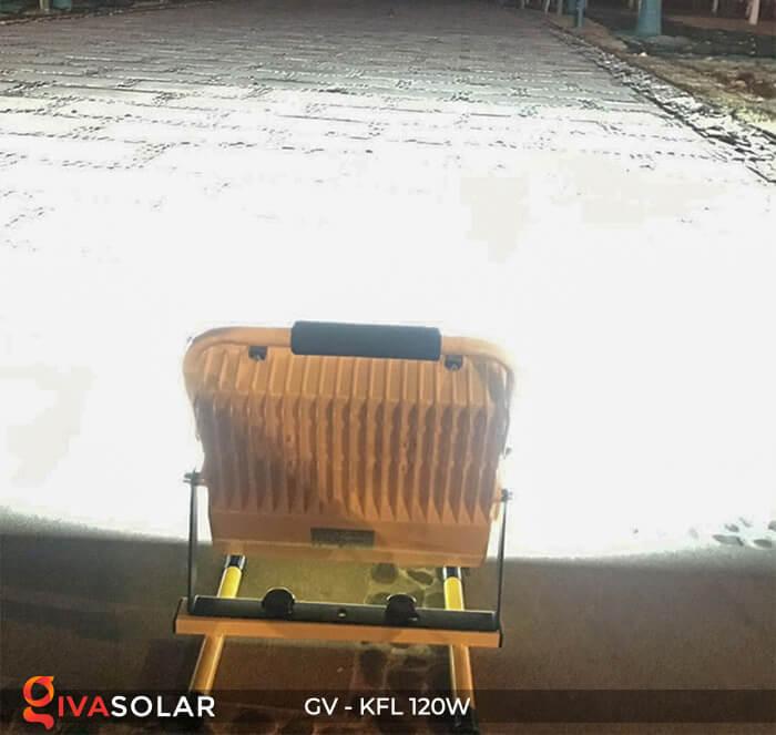 Đèn LED pha sạc điện GV-KFL-120W 8