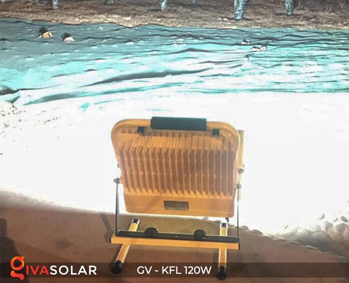 Đèn LED pha sạc điện GV-KFL-120W 9