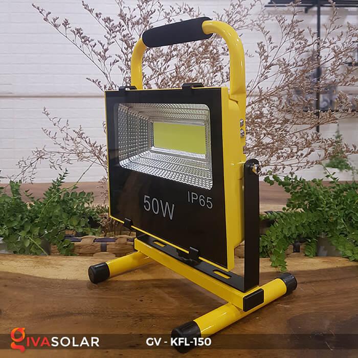 Đèn pha sạc LED COB GV-KFL-150 14