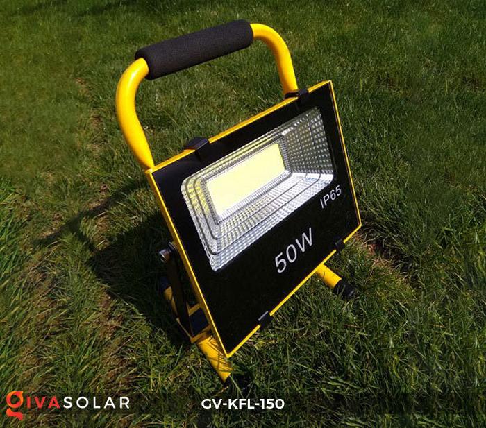 Đèn pha sạc LED COB GV-KFL-150 2