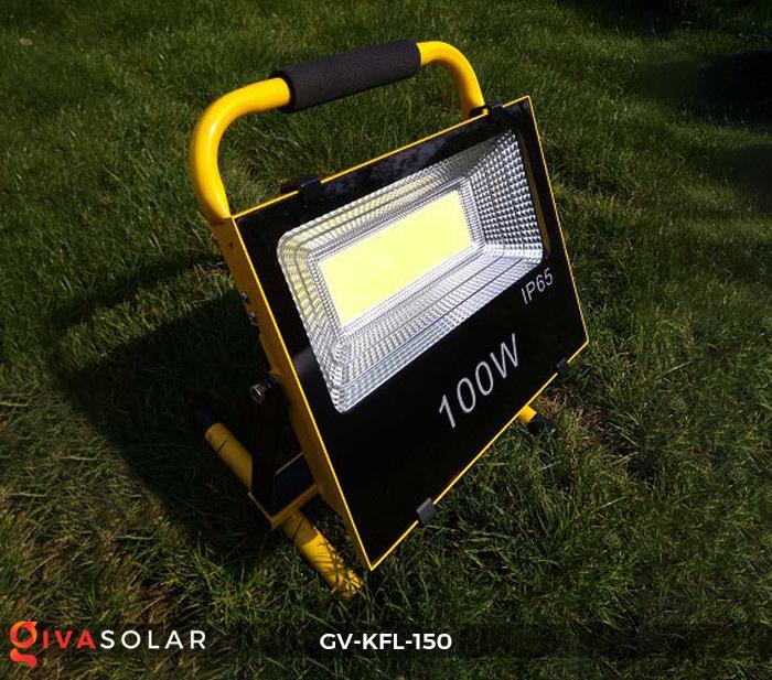 Đèn pha sạc LED COB GV-KFL-150 3