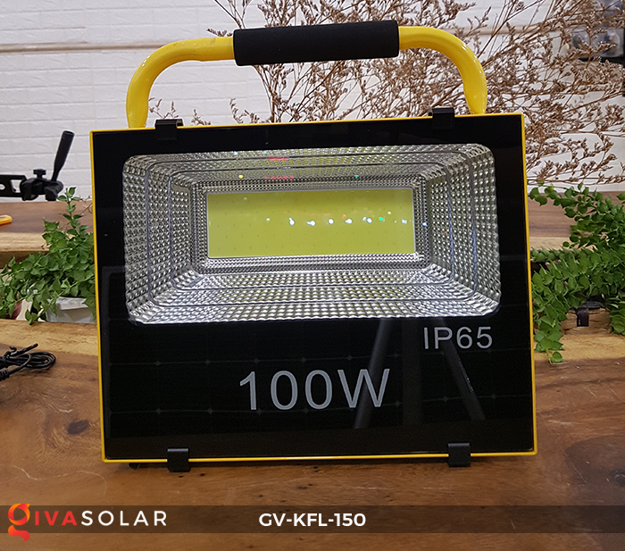 Đèn pha sạc LED COB GV-KFL-150 4