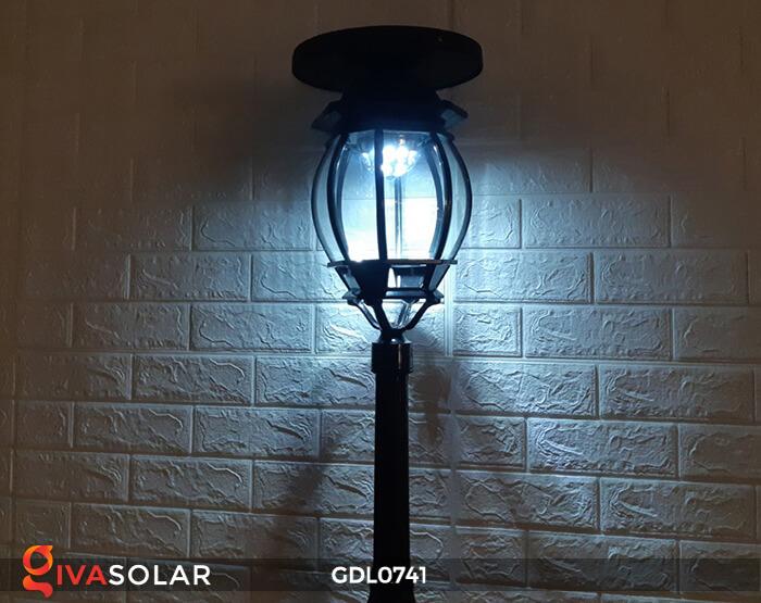 Đèn sân vườn năng lượng mặt trời GV-0741A4-01 12