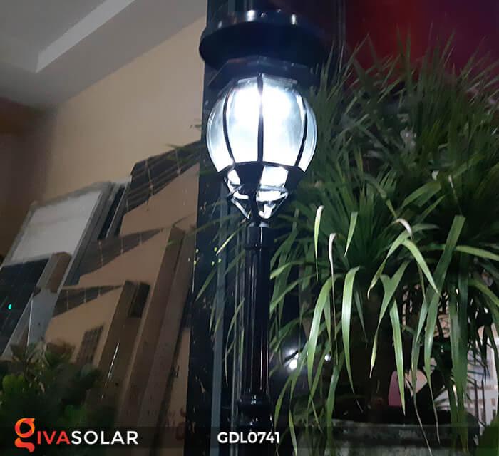 Đèn sân vườn năng lượng mặt trời GV-0741A4-01 8