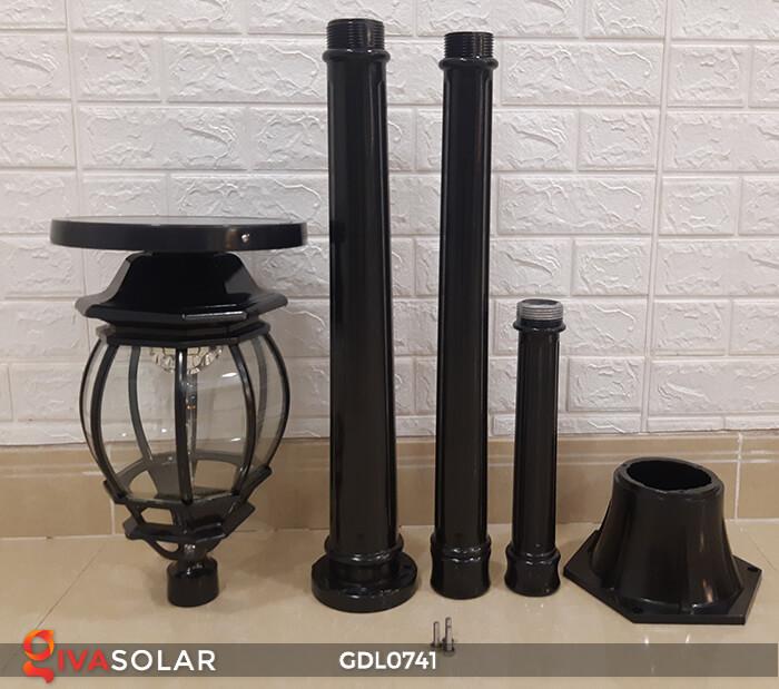 Đèn sân vườn năng lượng mặt trời GV-0741A4-01 9