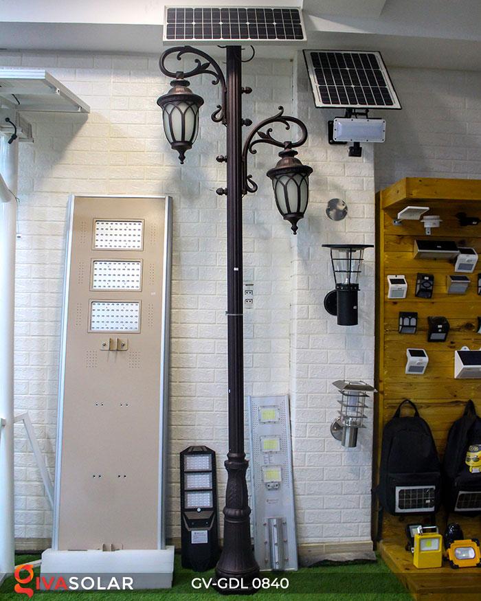 Đèn cột sân vườn năng lượng mặt trời GV-GDL0840 2