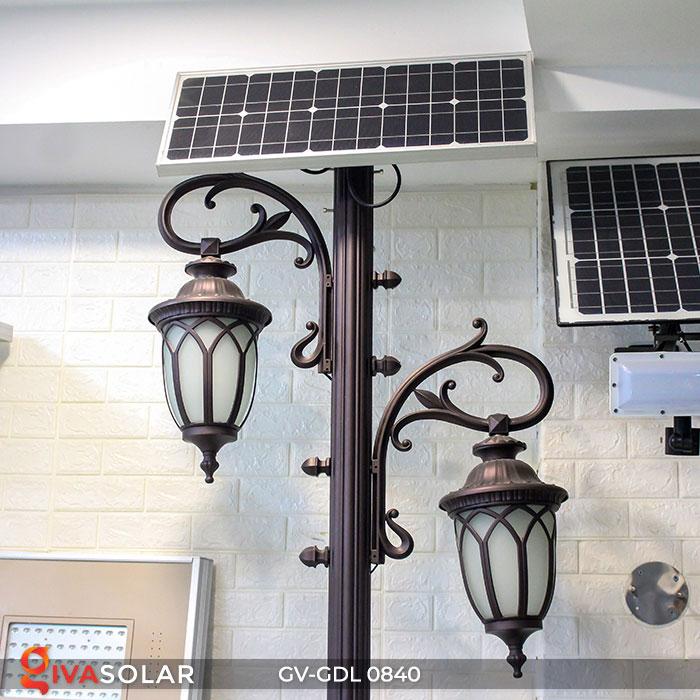 Đèn cột sân vườn năng lượng mặt trời GV-GDL0840 3