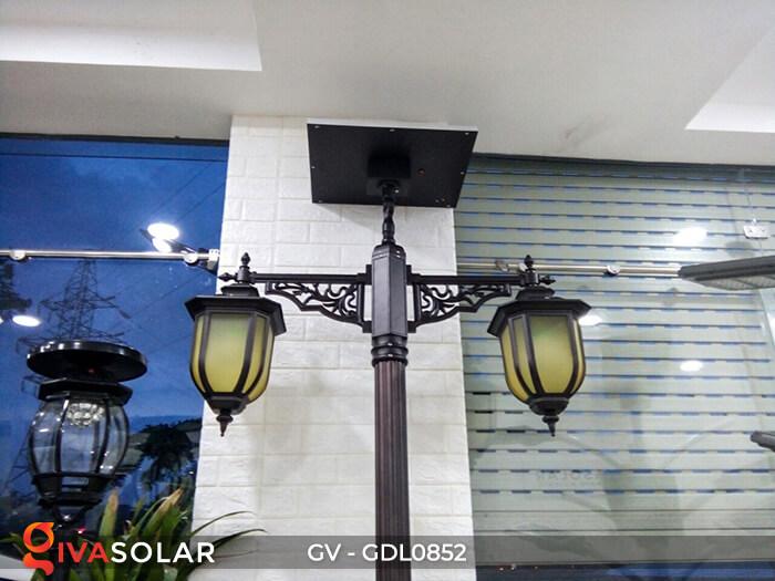 Đèn sân vườn trụ cao năng lượng mặt trời GV-GDL0852 4