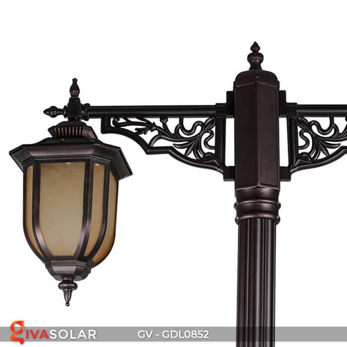Đèn sân vườn trụ cao năng lượng mặt trời GV-GDL0852 5
