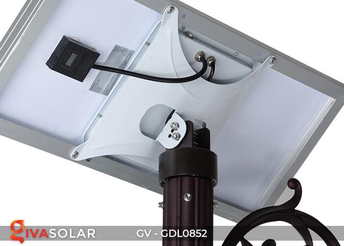 Đèn sân vườn trụ cao năng lượng mặt trời GV-GDL0852 6