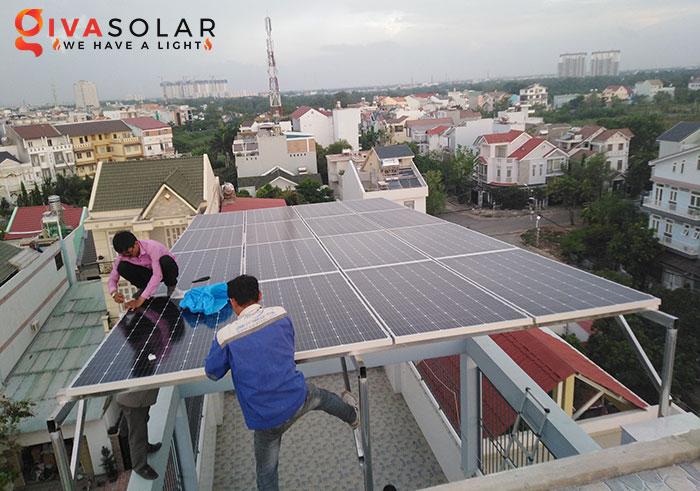 Lắp đặt hệ thống điện năng lượng mặt trời giá bao nhiêu 3