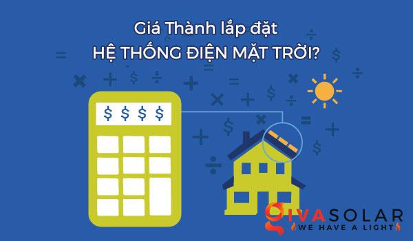 Lắp đặt hệ thống điện năng lượng mặt trời giá bao nhiêu?