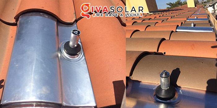 lắp đặt hệ thống điện mặt trời trên mái nhà 1